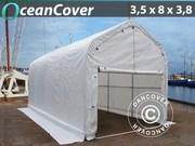 Boat shelter 3.5x8x3x3.8 m