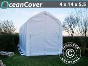 Boat shelter 4x14x4, 5x5, 5 m