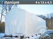Boat Shelter Titanium 4x12x3.5x4.5 m