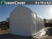 Boat shelter 4x10x3.5x4.5 m