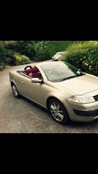 FOR SALE: 2005 Renault Megane Cabriolet