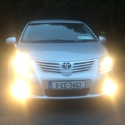 2011 Toyota avensis with 12 months guarantee